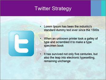 Diver In Googles PowerPoint Template - Slide 9