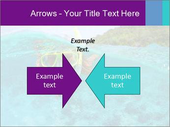 Diver In Googles PowerPoint Template - Slide 90