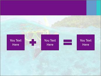 Diver In Googles PowerPoint Template - Slide 95