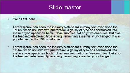 Diver In Googles PowerPoint Template - Slide 2