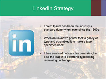 Dubai At Night PowerPoint Template - Slide 12