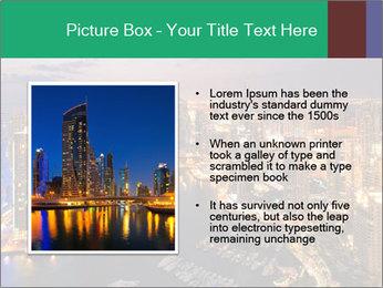 Dubai At Night PowerPoint Template - Slide 13