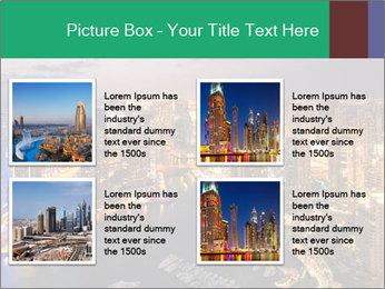 Dubai At Night PowerPoint Template - Slide 14