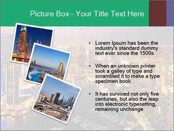 Dubai At Night PowerPoint Template - Slide 17