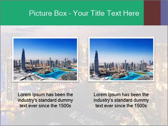 Dubai At Night PowerPoint Template - Slide 18