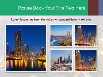 Dubai At Night PowerPoint Template - Slide 19