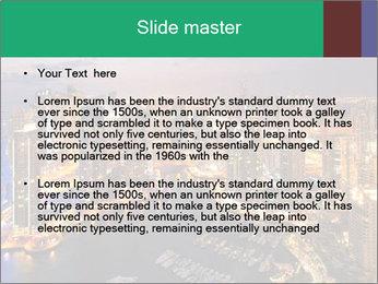 Dubai At Night PowerPoint Template - Slide 2