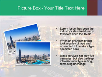 Dubai At Night PowerPoint Template - Slide 20