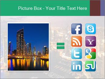 Dubai At Night PowerPoint Template - Slide 21