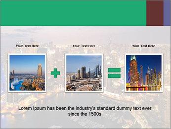 Dubai At Night PowerPoint Template - Slide 22