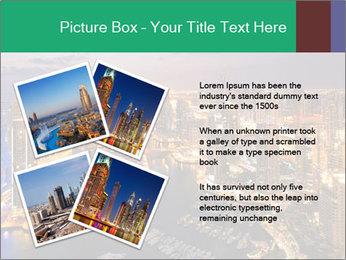 Dubai At Night PowerPoint Template - Slide 23