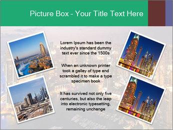 Dubai At Night PowerPoint Template - Slide 24