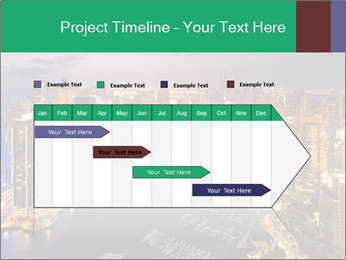 Dubai At Night PowerPoint Template - Slide 25