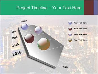 Dubai At Night PowerPoint Template - Slide 26