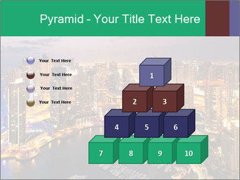 Dubai At Night PowerPoint Template - Slide 31