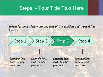 Dubai At Night PowerPoint Template - Slide 4