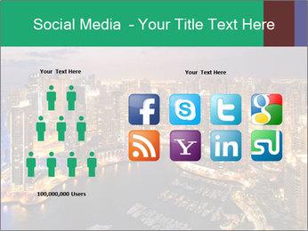 Dubai At Night PowerPoint Template - Slide 5