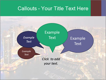 Dubai At Night PowerPoint Template - Slide 73
