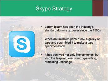 Dubai At Night PowerPoint Template - Slide 8