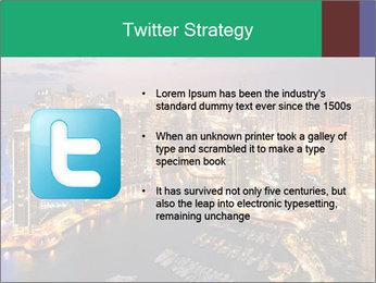 Dubai At Night PowerPoint Template - Slide 9