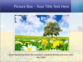 Golden Field PowerPoint Template - Slide 15