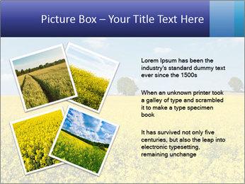 Golden Field PowerPoint Template - Slide 23