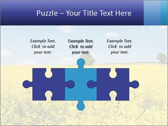 Golden Field PowerPoint Template - Slide 42