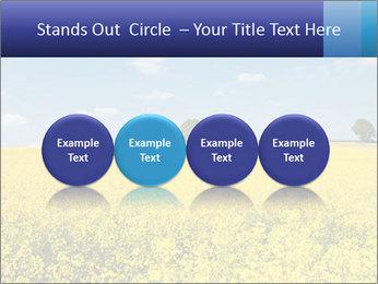 Golden Field PowerPoint Template - Slide 76