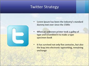 Golden Field PowerPoint Template - Slide 9