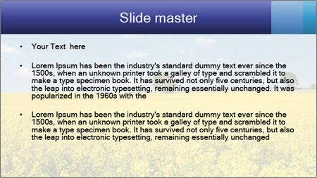 Golden Field PowerPoint Template - Slide 2