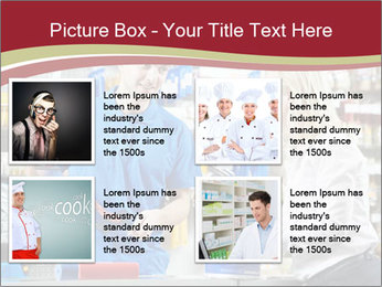 Busy Shopkeeper PowerPoint Template - Slide 14