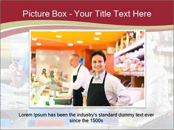 Busy Shopkeeper PowerPoint Template - Slide 15