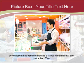 Busy Shopkeeper PowerPoint Template - Slide 16