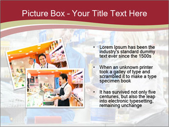 Busy Shopkeeper PowerPoint Template - Slide 20
