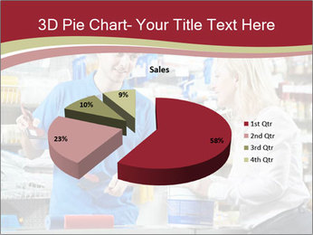 Busy Shopkeeper PowerPoint Template - Slide 35