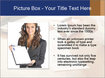 Businessman With Papers PowerPoint Template - Slide 13