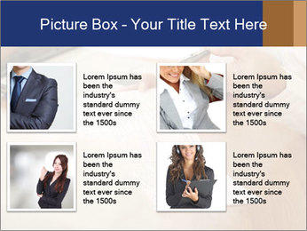 Businessman With Papers PowerPoint Templates - Slide 14