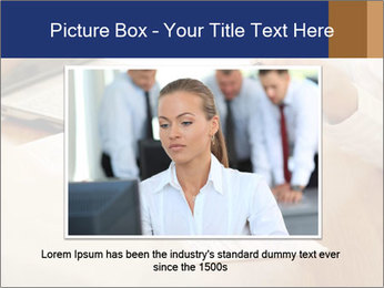 Businessman With Papers PowerPoint Template - Slide 15