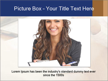 Businessman With Papers PowerPoint Templates - Slide 16