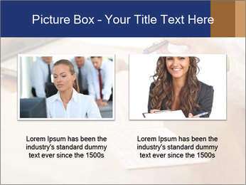 Businessman With Papers PowerPoint Templates - Slide 18
