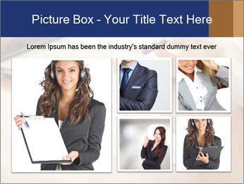 Businessman With Papers PowerPoint Templates - Slide 19