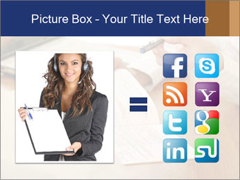 Businessman With Papers PowerPoint Templates - Slide 21