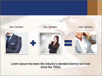 Businessman With Papers PowerPoint Template - Slide 22