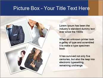 Businessman With Papers PowerPoint Template - Slide 23