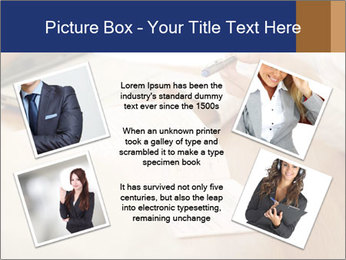 Businessman With Papers PowerPoint Template - Slide 24