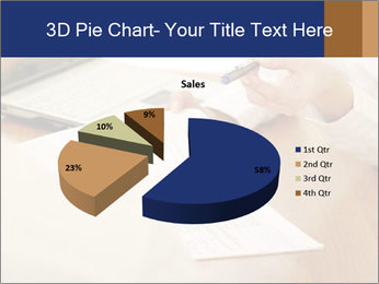 Businessman With Papers PowerPoint Template - Slide 35