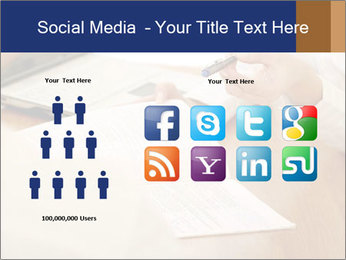 Businessman With Papers PowerPoint Templates - Slide 5