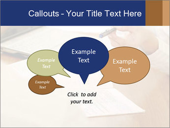 Businessman With Papers PowerPoint Templates - Slide 73