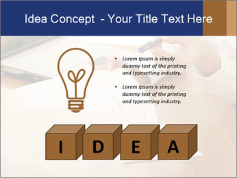 Businessman With Papers PowerPoint Templates - Slide 80