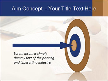Businessman With Papers PowerPoint Template - Slide 83